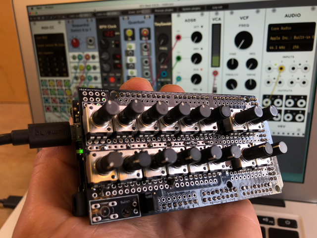 Grand Central USB MIDI Controller in CircuitPython