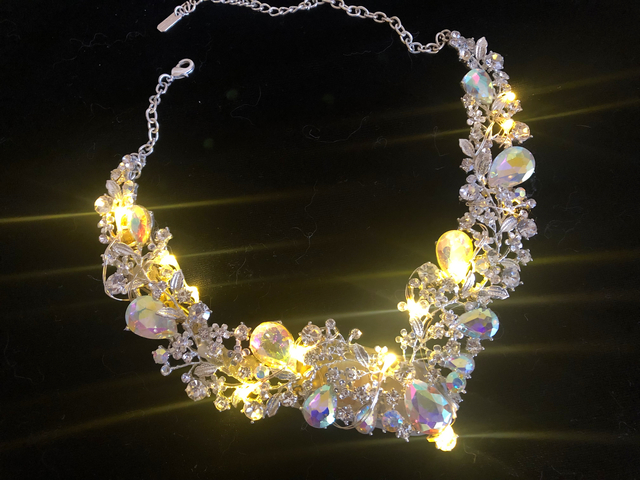 Easy LED Jeweled Necklace