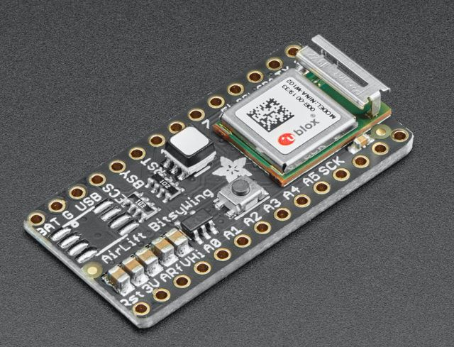 Adafruit Airlift Bitsy Add-On - ESP32 WiFi Co-Processor
