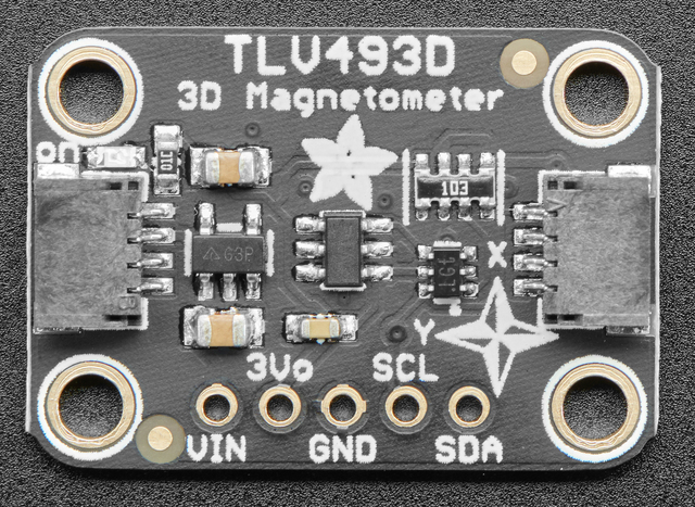 Adafruit TLV493 Triple-Axis Magnetometer