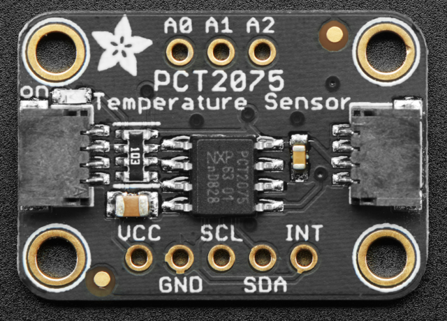 Adafruit PCT2075 Temperature Sensor