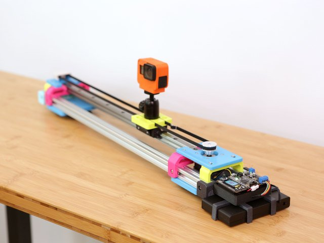 CircuitPython Motorized Camera Slider