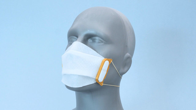 3D Printed Fabric Face Mask Clips