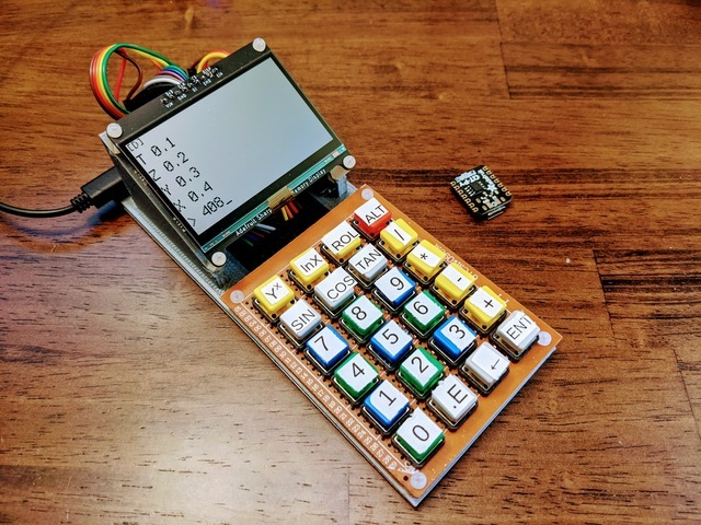 DIY Desktop Calculator with CircuitPython