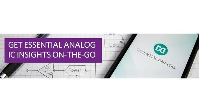 Analog IC Insights On-the-Go by Maxim Integrated