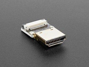 DIY HDMI Cable Parts - Straight HDMI Plug Adapter